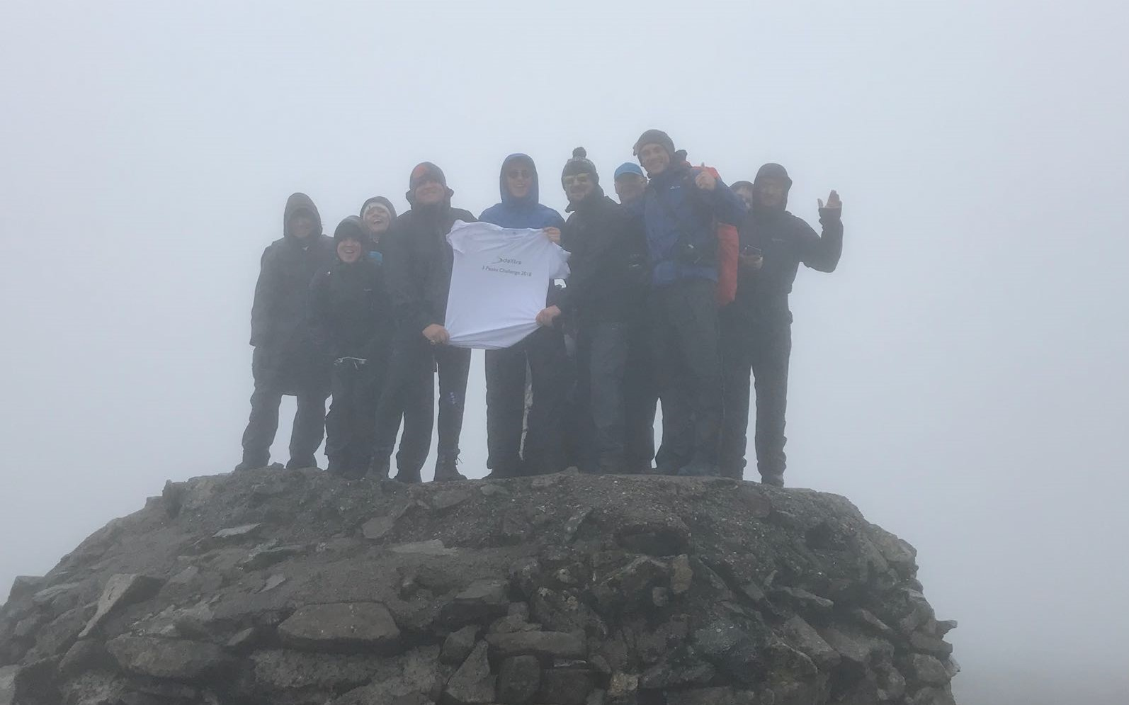 DaXtra at the top of Ben Nevis